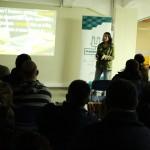 Caro speaking Makerspace